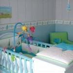 ¿Cómo puedo hacer seguro el dormitorio de mi bebé?