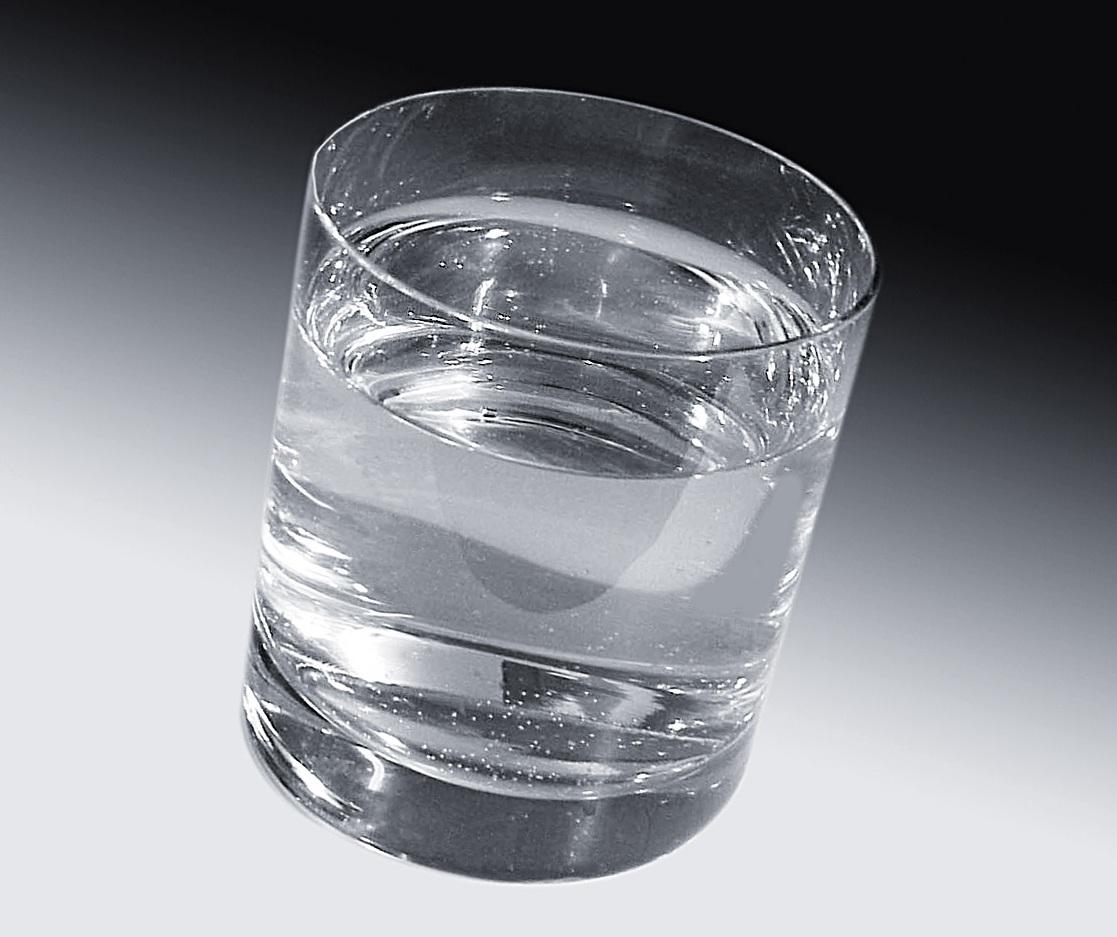 Quitar la sed con agua