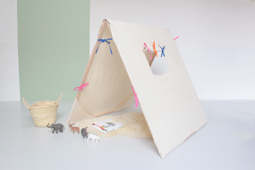Acampar en casa todoparabebes - Casitas de tela para ninos imaginarium ...