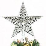Estrella colorida decoración Navidad
