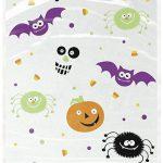 20 bolsas de celofán Pequeños Monstruos Halloween